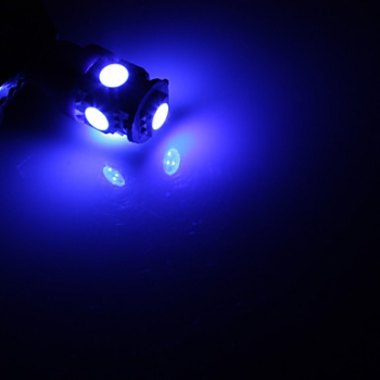 led frei gmbh led w5w standlicht 5smd t10 blau. Black Bedroom Furniture Sets. Home Design Ideas