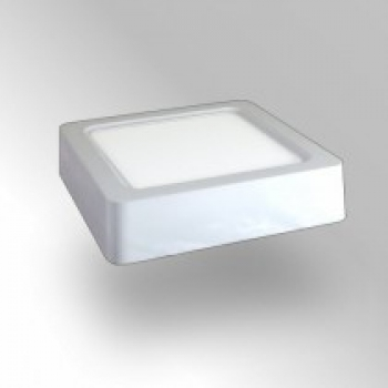 Led frei gmbh led aufbaupanel 180x180mm 15w neutralweiss for Led deckenaufbauleuchten