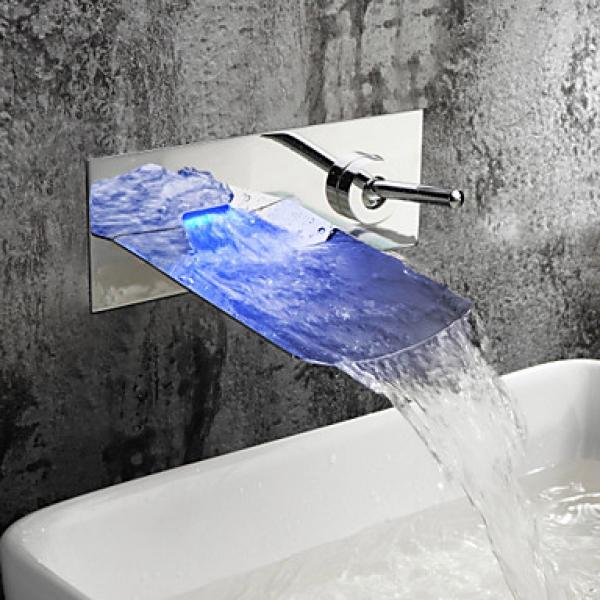 Led frei gmbh led wasserfall armatur - Wasserfall armatur ...