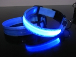 LED Hundehalsband XL
