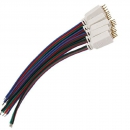 RGB LED Flexible Strips 4 Pin Female Connector Kabel